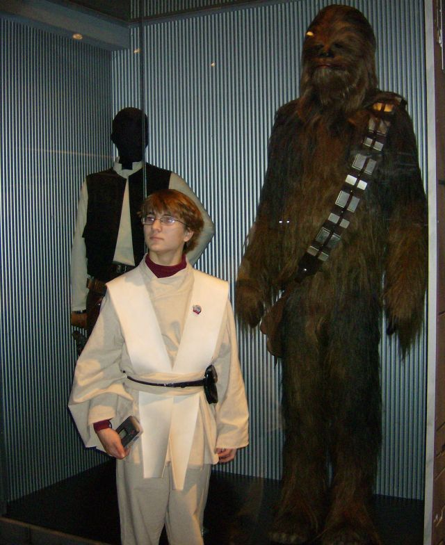 Jedi, wookie and scoundrel
